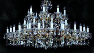 Lustry Marie Terezie ArtGlass
